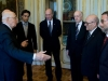 Presentazione del volume al Presidente Napolitano