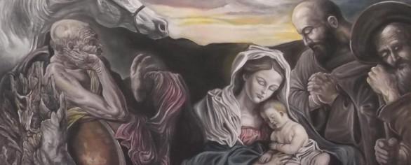 """Mostra di pittura """"Il Mondo di Gelindo visto dall'artista"""", di Marcello Della Valle"""