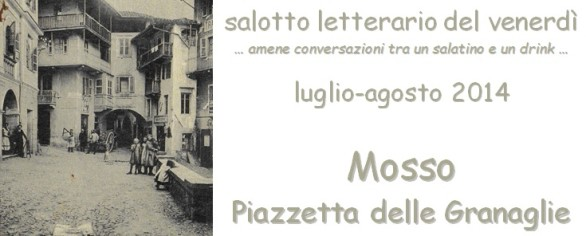 Salotto letterario del venerdì… amene conversazioni tra un salatino e un drink…